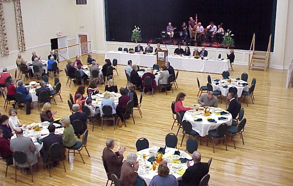 The 2003 Man and Woman of the Year Banquet sponsored by the Community Development Association